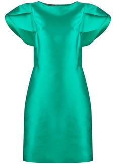 Alberta Ferretti short-sleeve mini dress