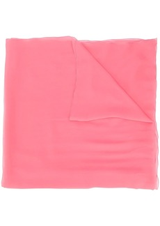 Alberta Ferretti silk transparent scarf