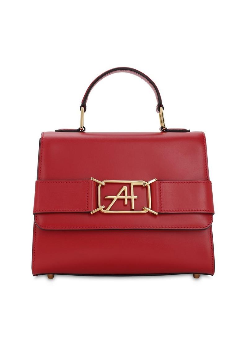 Alberta Ferretti Small Leather Top Handle Bag