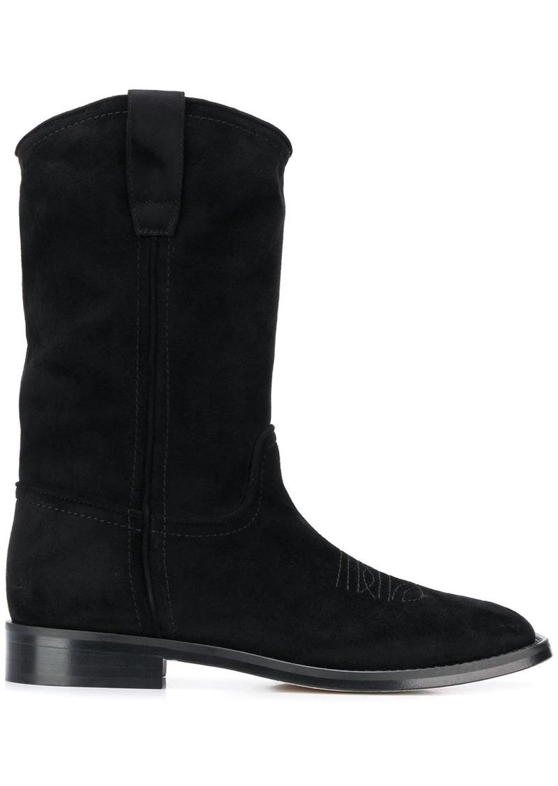 Alberta Ferretti square-toe Western boots