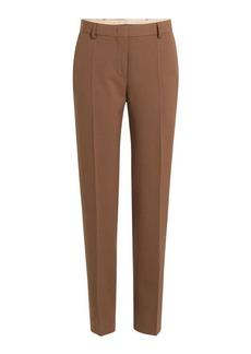 Alberta Ferretti Straight Leg Pants with Wool