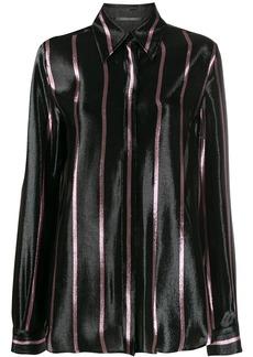 Alberta Ferretti long sleeved striped shirt