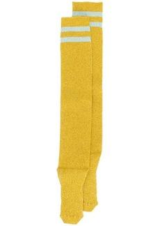 Alberta Ferretti striped long socks