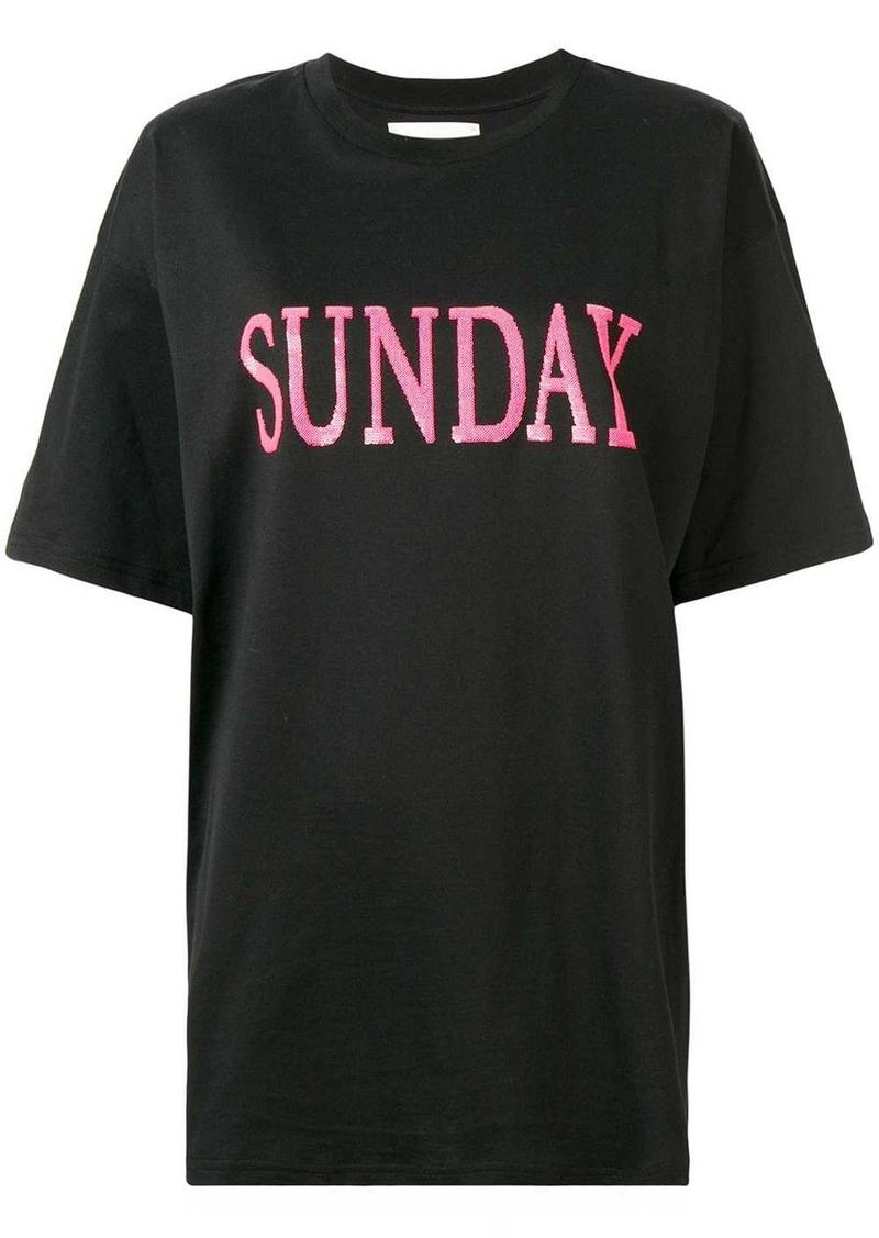 Alberta Ferretti Sunday T-shirt