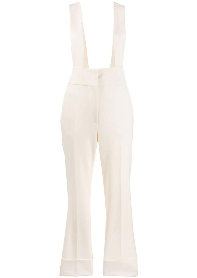 Alberta Ferretti Suspender straps trousers