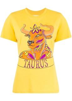 Alberta Ferretti Taurus print T-shirt