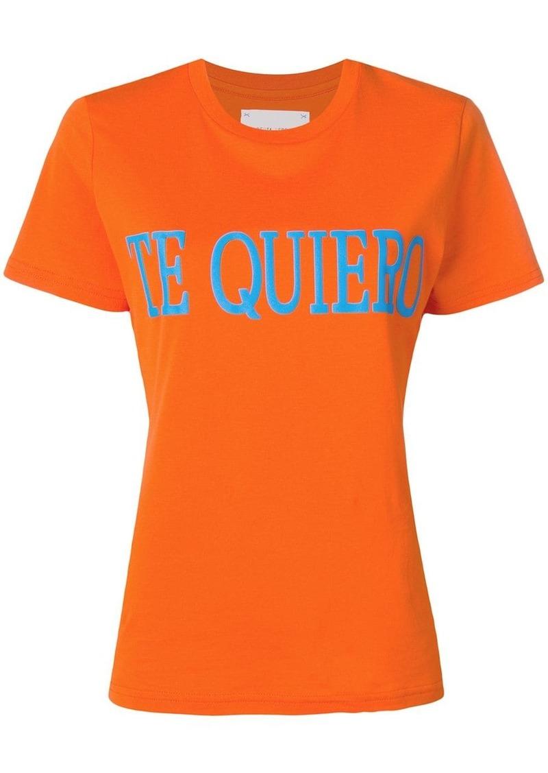 Alberta Ferretti Te Quiero T-shirt