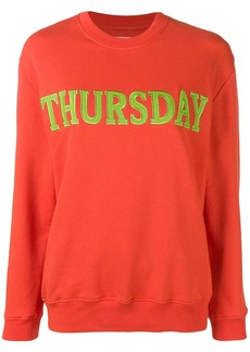 Alberta Ferretti Thursday jersey sweatshirt