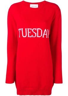 Alberta Ferretti Tuesday sweater dress