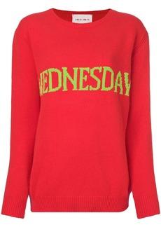 Alberta Ferretti Wednesday intarsia jumper