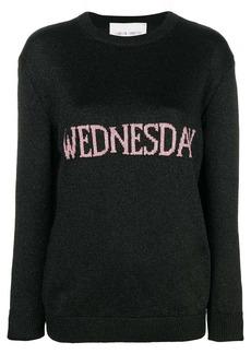 Alberta Ferretti Wednesday knit jumper