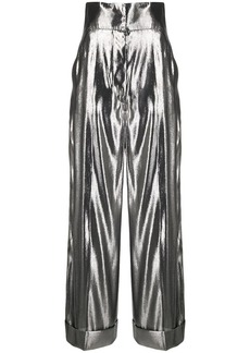 Alberta Ferretti wide-leg flared trousers
