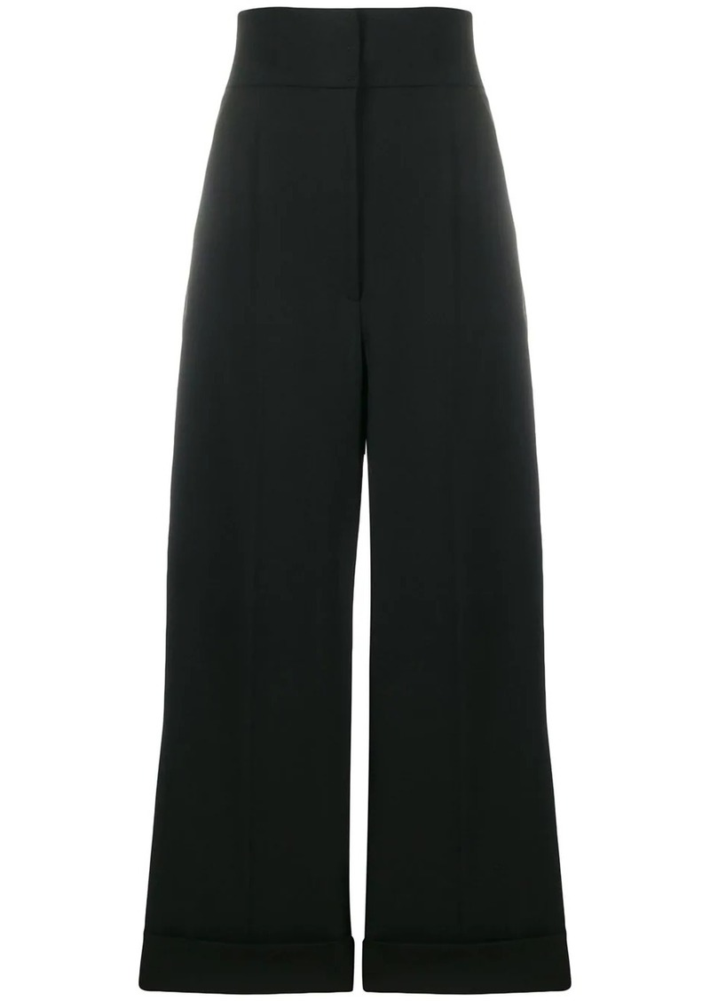 Alberta Ferretti wide-leg tailored trousers