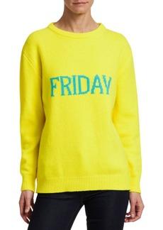 Alberta Ferretti Wool & Cashmere Friday Knit Sweater