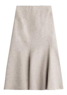 Alberta Ferretti Wool Skirt with Cashmere