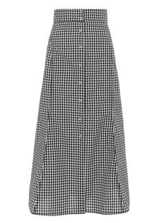 A.L.C. Abigail Gingham Skirt