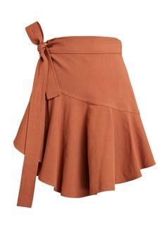 A.L.C. Adelaide Mini Wrap Skirt
