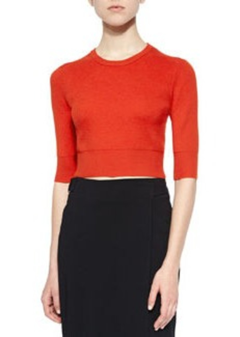 A.L.C. Hansen Merino Cropped Sweater