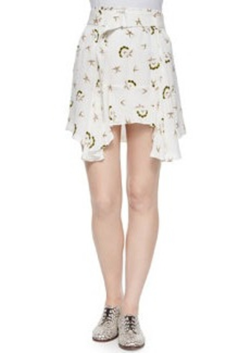 A.L.C. Daro Floral-Print Skirt