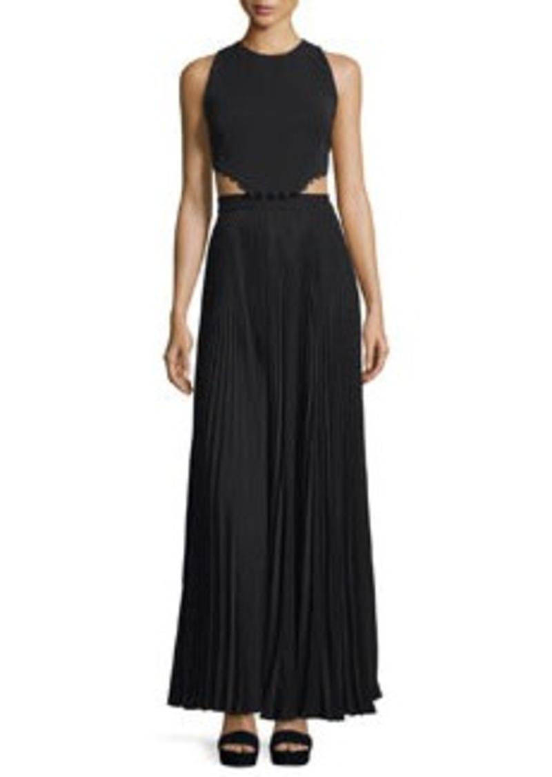 A.L.C. Marco Sleeveless Cutout Maxi Dress