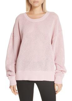 A.L.C. Alana Mesh Sweater
