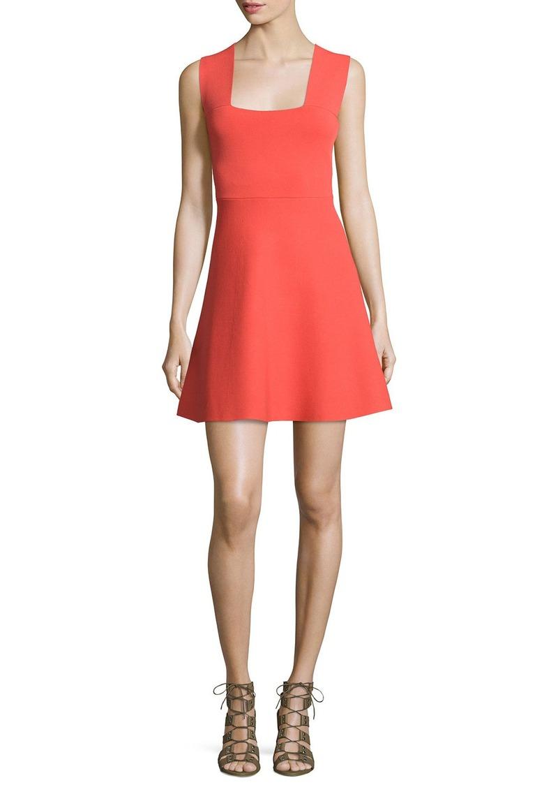 A.L.C. Ali Sleeveless Stretch Jersey Mini Dress