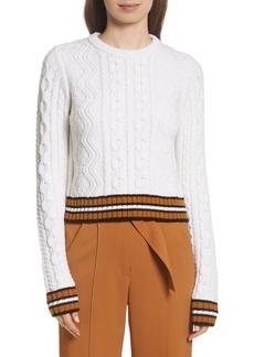 A.L.C. Alpha Cable Knit Sweater