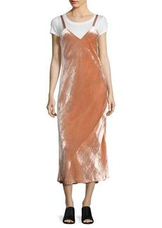 A.L.C. Annex Velvet Midi Dress