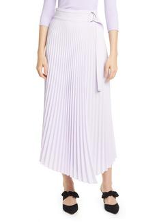 A.L.C. Arielle Asymmetrical Pleated Skirt