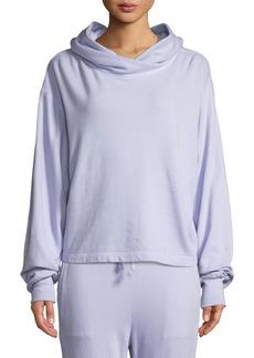 A.L.C. Ash Garment-Dye Hoodie Pullover Sweatshirt