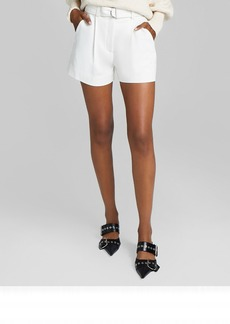 A.L.C. Bronson Belted Shorts