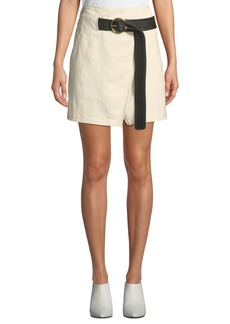 A.L.C. Cami Belted Wrap Skirt
