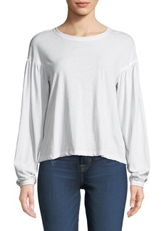A.L.C. Carroll Dropped-Shoulder Cotton Tee