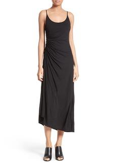 A.L.C. Delia Ruched Midi Dress