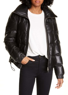 A.L.C. Denver Leather Down Puffer Jacket
