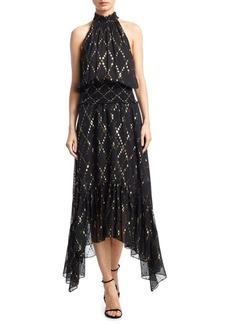A.L.C. Eatson Fil Coupe Midi Dress