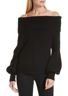 A.L.C. Elin Off the Shoulder Sweater
