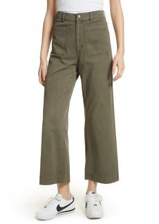 A.L.C. Finley Wide Leg Crop Pants