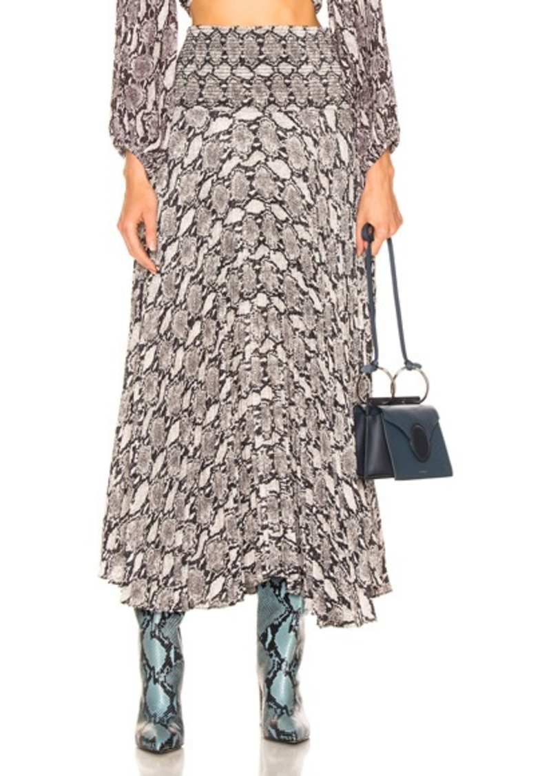 A.L.C. for FWRD Pleated Skirt