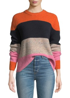 A.L.C. Georgina Colorblock Wool-Cashmere Sweater