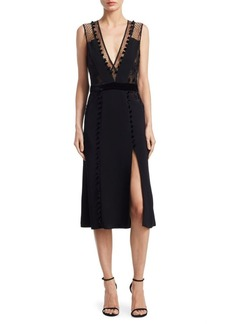 A.L.C. Harlow Slit Midi Dress