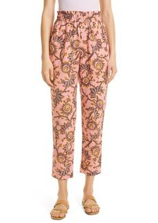 A.L.C. Henry Print Linen Pants