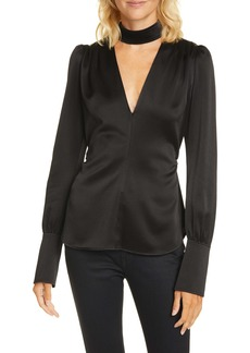 A.L.C. Hirsch Cutout Top