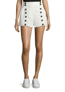 A.L.C. Issac High-Waist Sailor Shorts