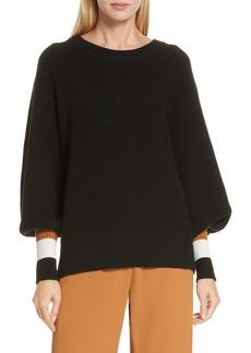 A.L.C. Jasper Lambswool & Cashmere Blend Sweater