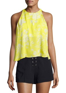 A.L.C. Jasper Silk Sleeveless Top