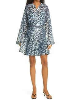 A.L.C. Jen Long Sleeve Silk Shirtdress