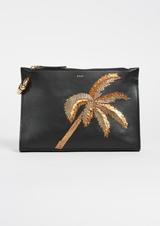A.L.C. Joni Palm Tree Clutch