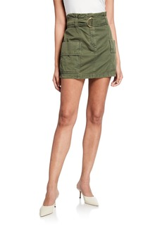 A.L.C. Kai Belted Utility Skirt