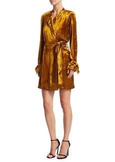 A.L.C. Kendall Belted Wrap Dress